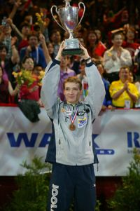 Werner Schlager, 2003 World Table Tennis Champion